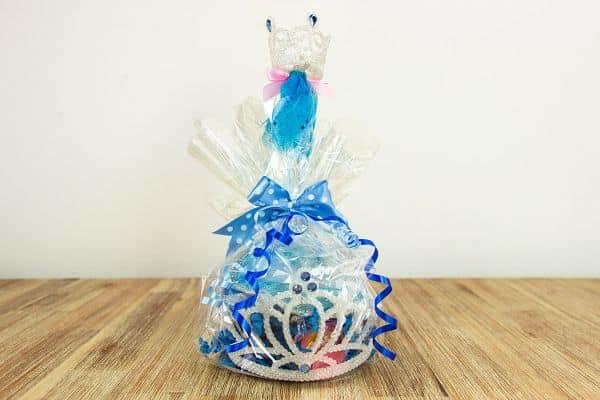 Estas lembrancinhas de aniversário da Cinderela são lindas e muito fáceis de serem feitas (Foto: blog.partydelights.co.uk)