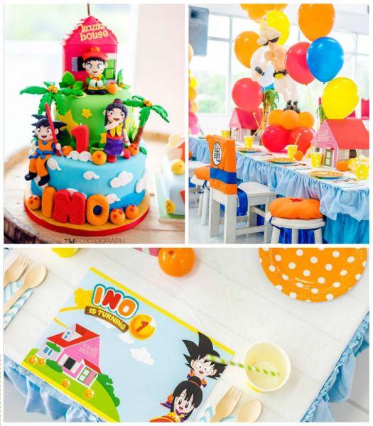 Espaço Infantil – Decoração de Festa Infantil Tema Dragon Ball