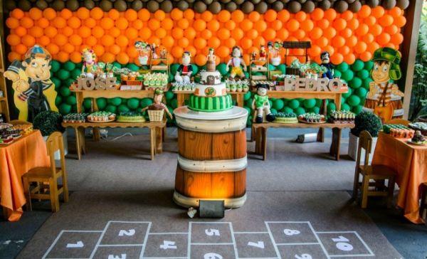Infantil – Decoração de Festa Infantil Tema Turma do Chaves