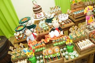 Fotos decoração festa do Léo- tema Chaves