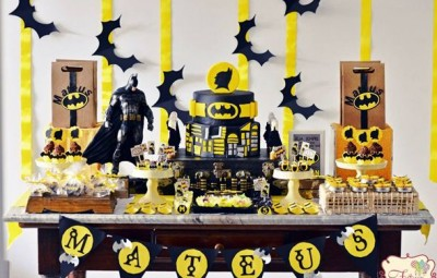 A festa infantil do Batman é divertida e pode ser bem diferenciada (Foto: prettymyparty.com)