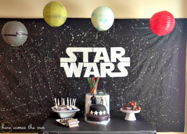 Espaço Infantil – Ideias para Decoração de Festa Infantil Star Wars