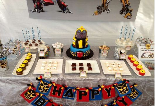 Festa Infantil Tema Transformers Pictures to pin on Pinterest