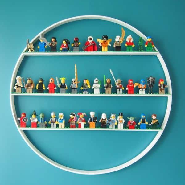 Espaço Infantil u2013 Artesanato para Organizar Brinquedos em Parede de Quarto Infantil