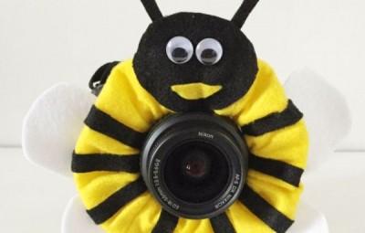 Este enfeite infantil para lente fotográfica também pode ser usado quando for tirar fotos do seu pet (Foto: instructables.com)