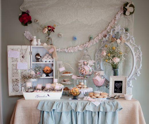 Ideias para decoração de aniversário infantil vintage não faltam, e uma mais linda que a outra (Foto: pinterest.com)