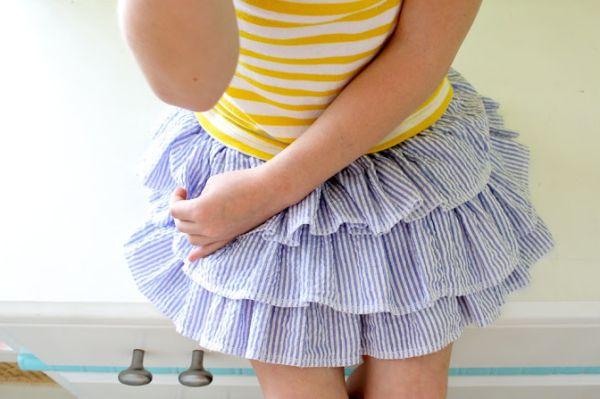 Пышные юбки с воланами своими руками