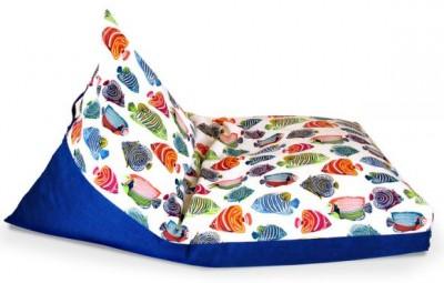 Esta diferente almofada infantil também serve como objeto de decoração para os seus espaços (Foto: sew4home.com)