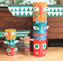 Este artesanato infantil com latas pode ser feito com o estilo que você desejar  (Foto: to-made.com)