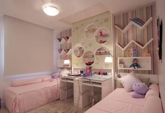 Espa o infantil decora o infantil de quarto de g meas - Ideas para pintar una habitacion de nino ...