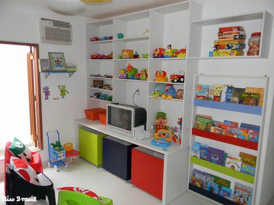 Espaço Infantil – Decoração Infantil para Sala de Brincadeira