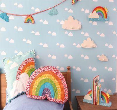 Invista já na decoração de quarto infantil com EVA (Foto: pinterest.com)
