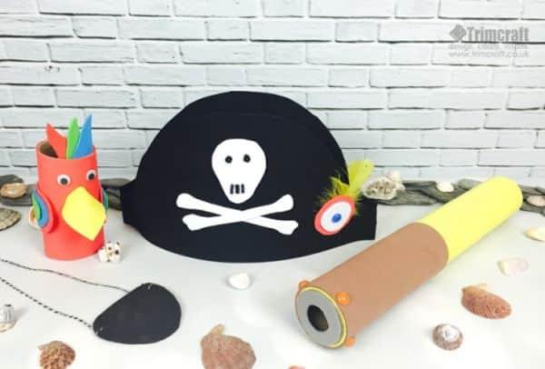 Fantasia infantil de pirata é barata, mas bem interessante (Foto: trimcraft.co.uk)