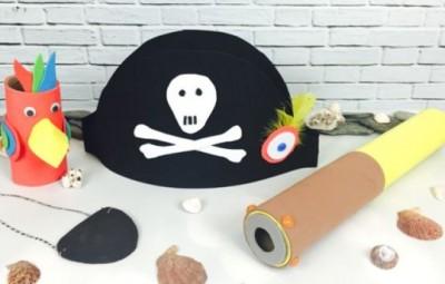 Fantasia Infantil de Pirata Passo a Passo