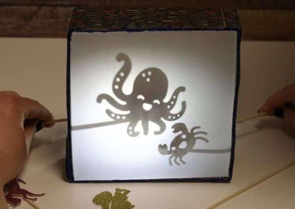 Caixa de Sombra para Teatrinho Infantil