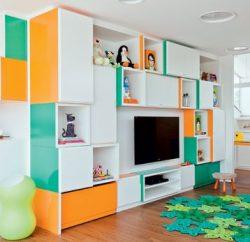 Suas crianças merecem um cantinho infantil para sala de casa (Foto: pinterest.com)