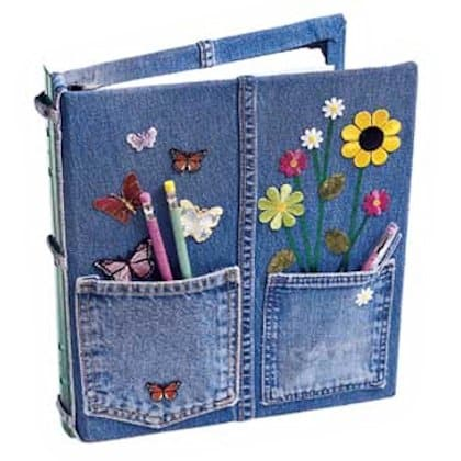 A decoração infantil para cadernos pode ser a mais variada possível (Foto: aboutfamilycrafts.com)