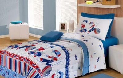 Capriche na escolha dos jogos de cama infantil para meninos (Foto: santatextil.com.br)