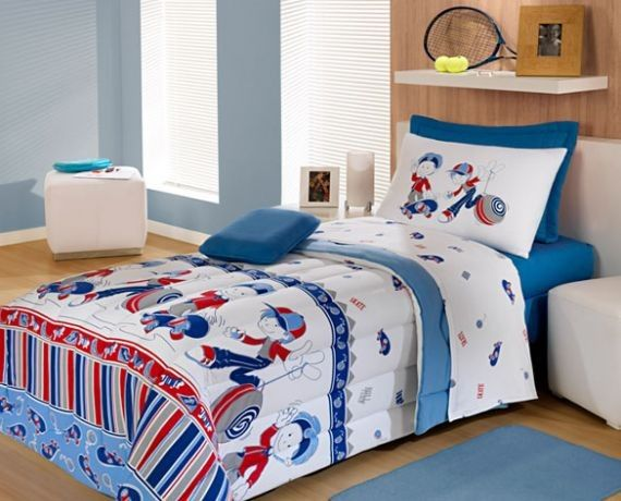 Espa o infantil jogos de cama infantil para meninos - Dosel para cama infantil ...