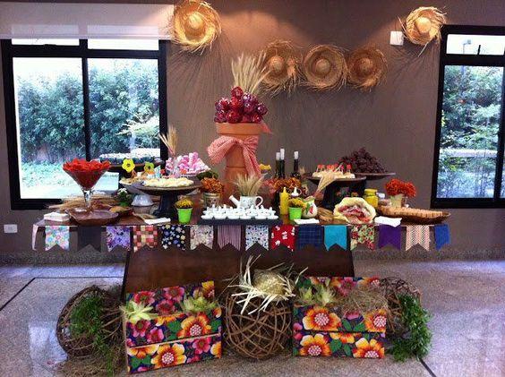 Decoração de Festinha Infantil Junina