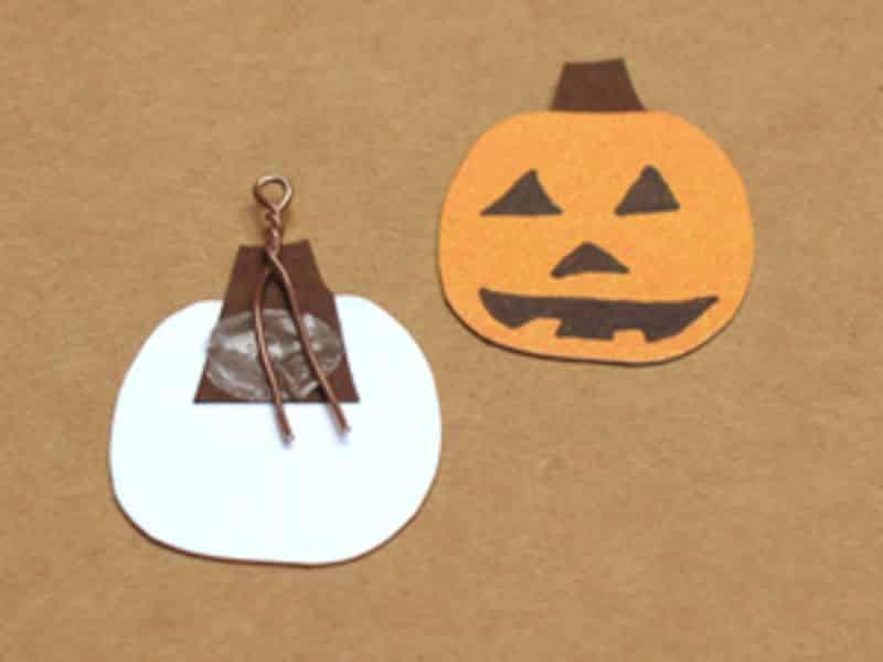 Artesanato Em Madeira De Demolição ~ Espaço Infantil Ideias de Artesanato Infantil para Halloween 8 Espaço Infantil