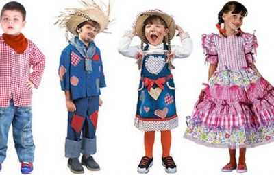 Ideias de Roupa Infantil para Festa Junina