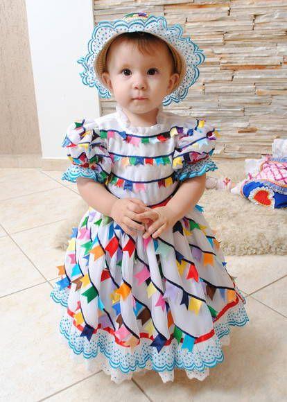 Roupa Infantil Para Festa Junina