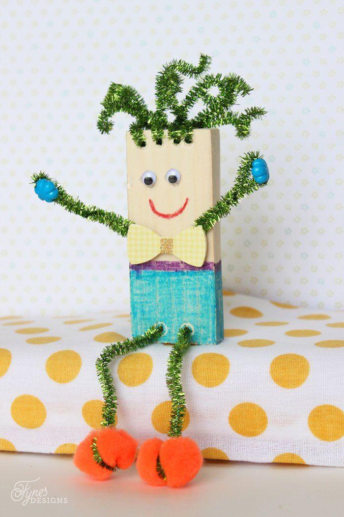 Este trabalho manual para fazer com crianças é fofo e divertido (Foto: fynesdesigns.com)