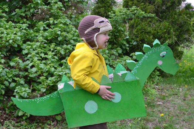 Caixa Dinossauro para Crianças