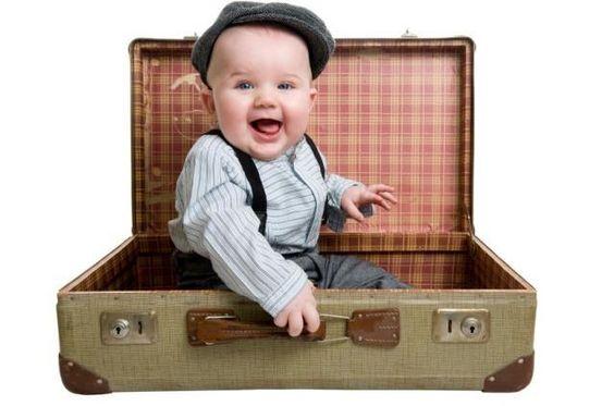 Arrumar a Mala de Viagem da Criança