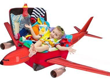 Mala de Viagem da Criança