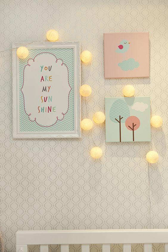 Quarto infantil com papel de parede dicas - Papel para pared infantil ...