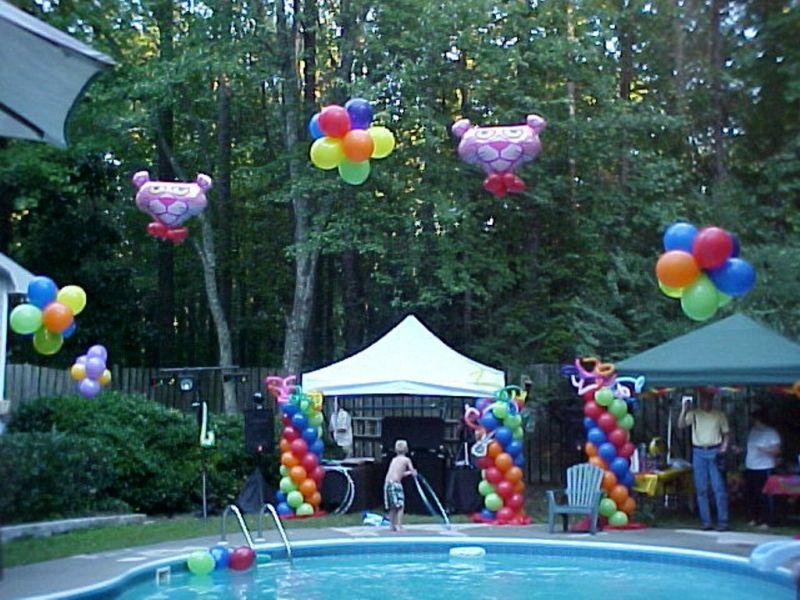 Espa o infantil 10 ideias de decora o infantil para festa for Piscina 7 de agosto