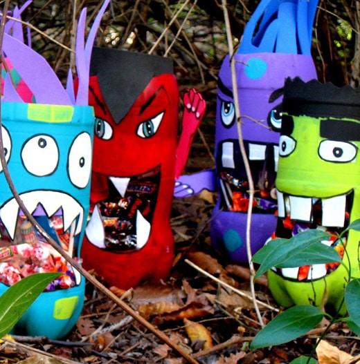 Artesanato Em Geral Mr ~ 15 Ideias de Artesanato Infantil com Garrafa Pet