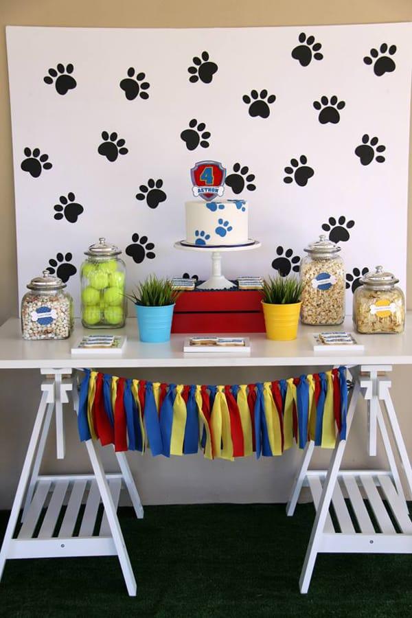 Opções para Decoração Infantil Patrulha Canina
