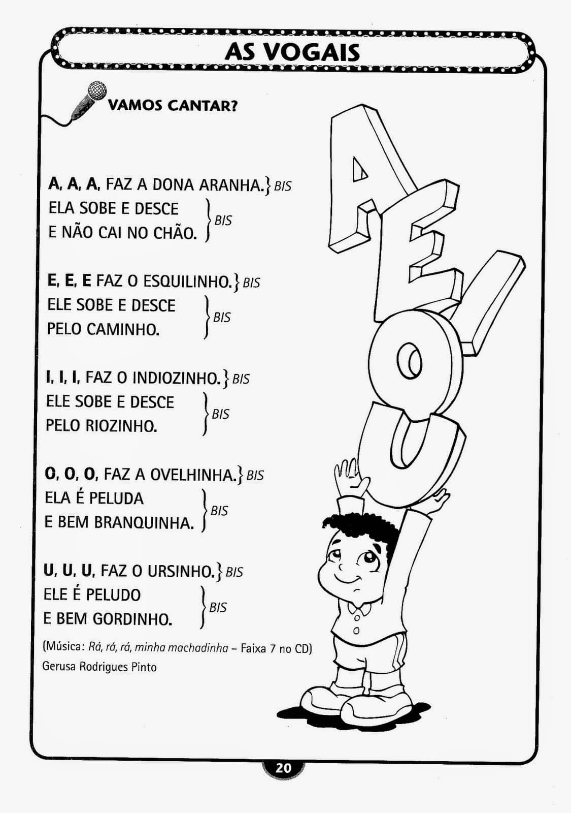 Extremamente Espaço Infantil – Atividades Infantil Alfabetização para Imprimir SM47