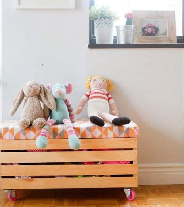 Dicas de Decoração Infantil com Caixotes de Feira