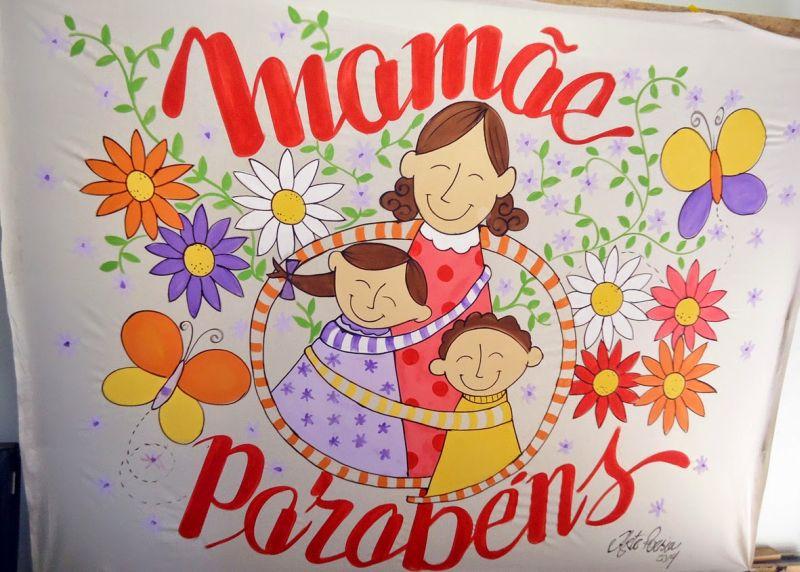 Decoraç u00e3o Infantil para Dia das M u00e3es na Escola -> Decoração Dia Das Maes Escola
