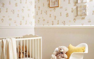 Dicas de Decoração de Quarto com Papel de Parede Infantil
