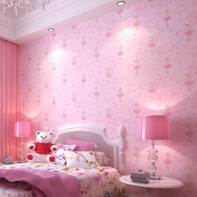 Espa o infantil decora o de quarto com papel de parede for Papel para pared infantil