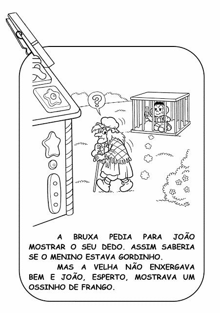 historia joao e maria desenho