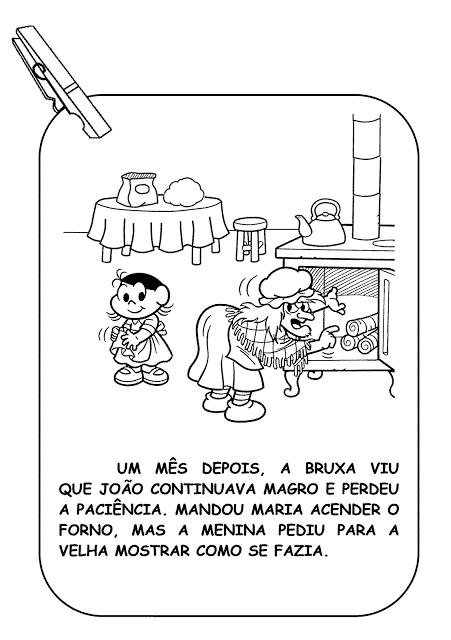 historia infantil de joão e maria