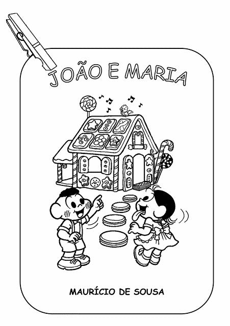 historia infantil joao e maria original
