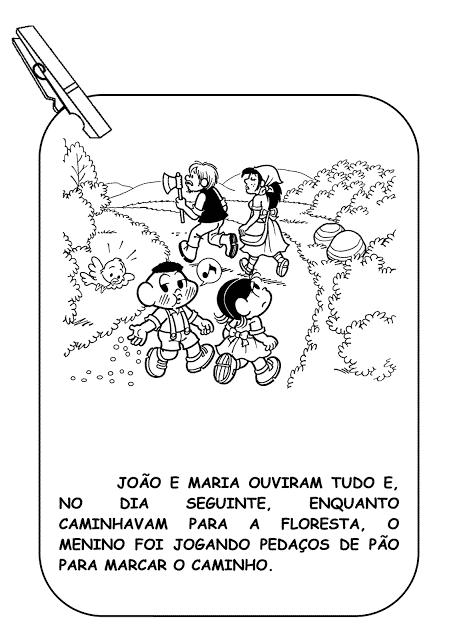 a historia infantil de joao e maria