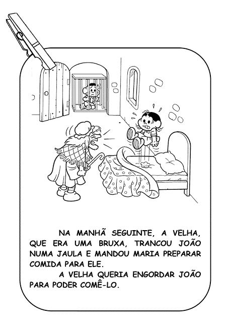historia infantil joão e maria