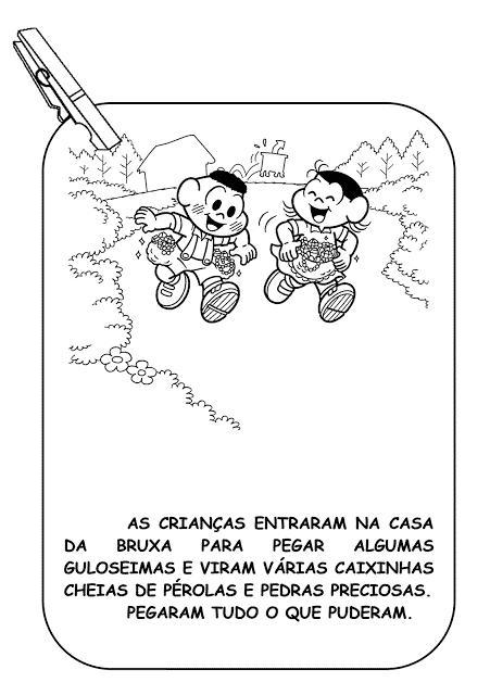 historia de joão e maria ilustrada