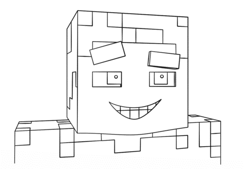 desenhos do minecraft para recortar