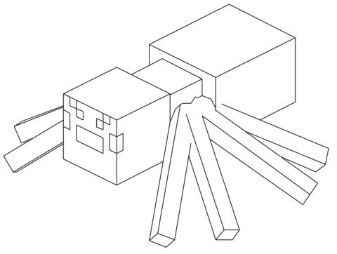 imagens do minecraft para desenhar