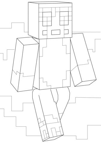 desenhos do minecraft animados