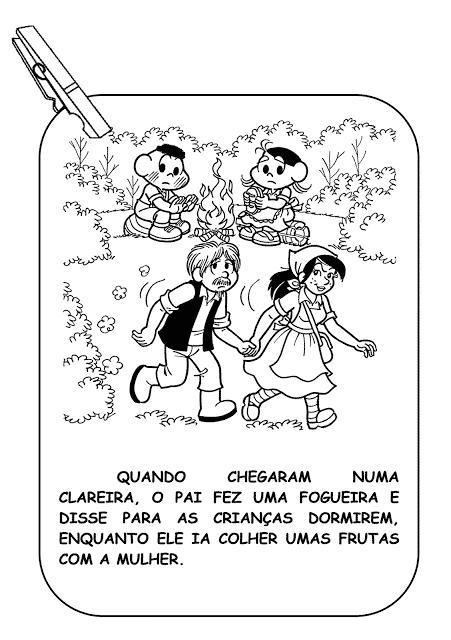 historia joao e maria em quadrinhos